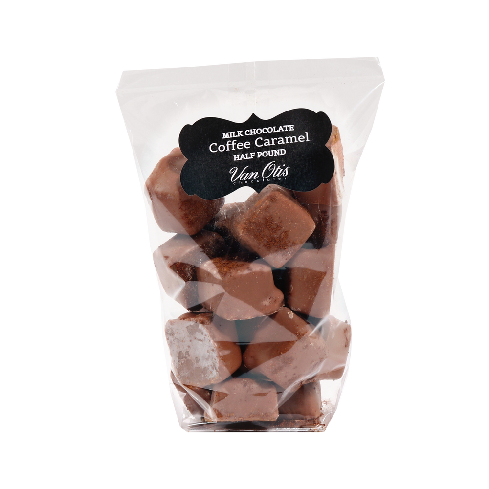 Milk Chocolate Coffee Caramels - 40% OFF IN CART!