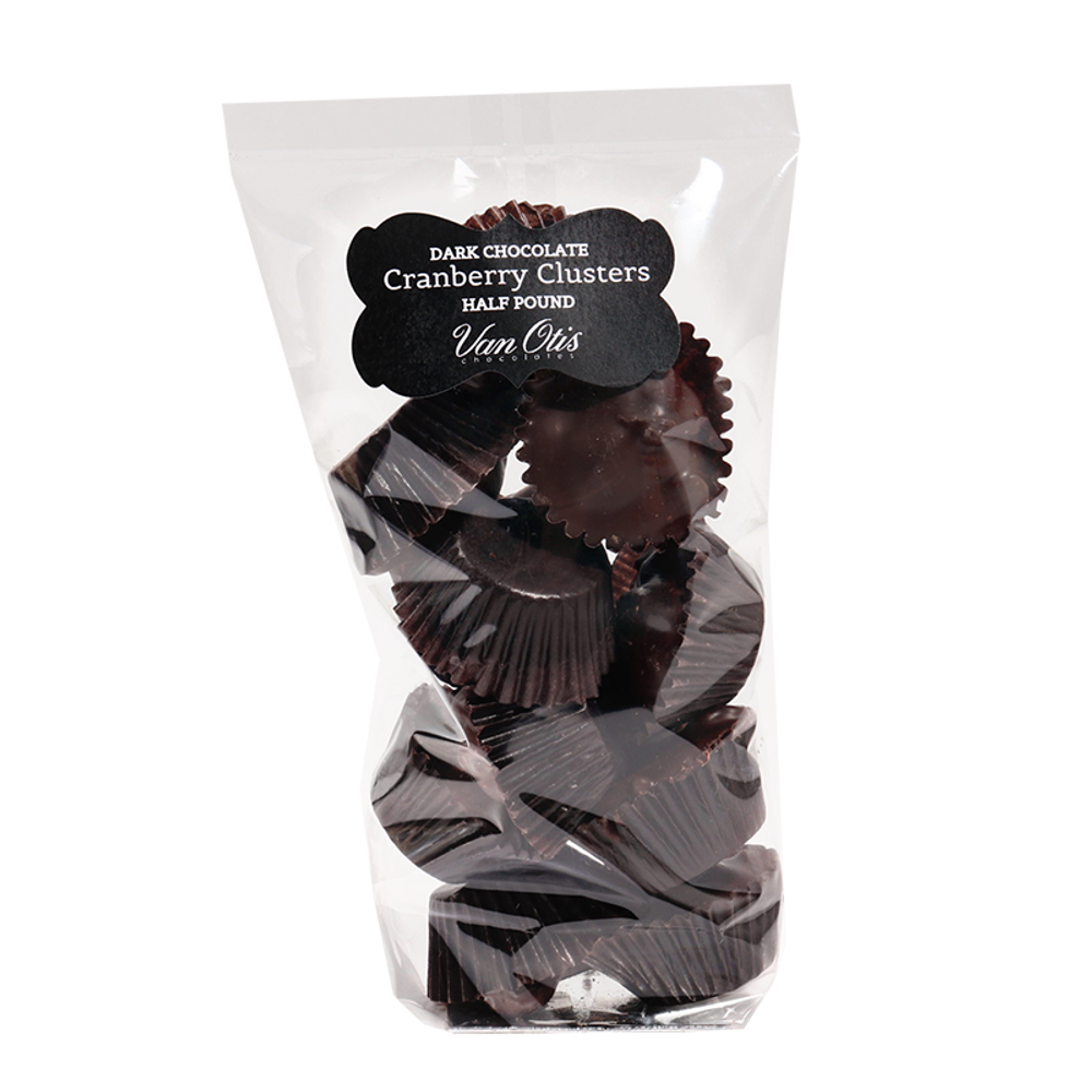 Dark Chocolate Cranberry Clusters - 40% OFF IN CART!