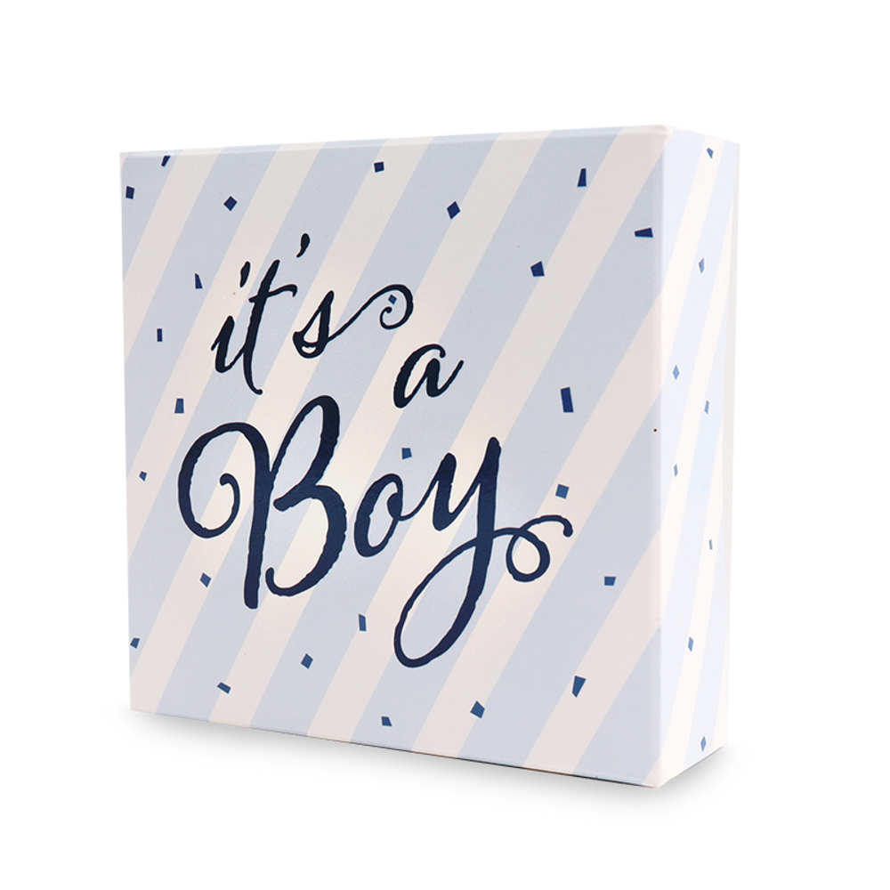 It's a Boy 4pc Assorted Truffles Box