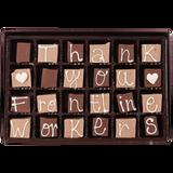 Thank You Frontline Workers - Large Custom Swiss Fudge Box