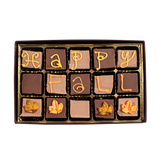 Happy Fall -  Medium Custom Swiss Fudge Box