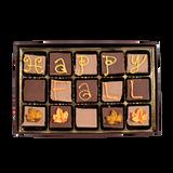 Happy Fall -  Medium Custom Swiss Fudge Box