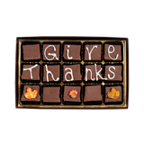Give Thanks -  Medium Custom Swiss Fudge Box