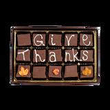 Give Thanks -  Medium Custom Swiss Fudge Box