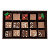 Seasons Greetings - Medium Custom Swiss Fudge Box