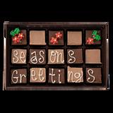 Seasons Greetings - Medium Custom Swiss Fudge Box