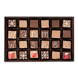 Warm Wishes - Large Custom Swiss Fudge Box