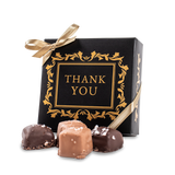 Thank You Sea Salt Caramels Gift Box