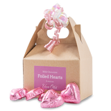 Carry-Out Box of Foiled Hearts