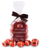 Milk Chocolate Footballs