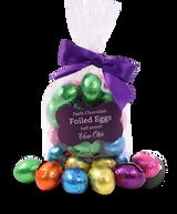 Dark Chocolate Foiled Eggs 1/2lb Bag