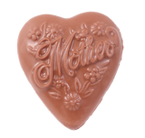 Mother Solid Heart Mold Milk Chocolate