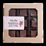 Raspberry Swiss Fudge