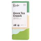 Raaka Green Tea Crunch Vegan Chocolate Bar