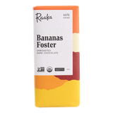 Raaka Bananas Foster Vegan Chocolate Bar