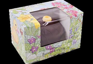 Dark Chocolate Butter Cream Egg