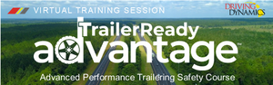 Virtual training on how to safely two a trailer.