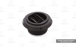 Webasto Outlet for 90mm ducting Closeable Black