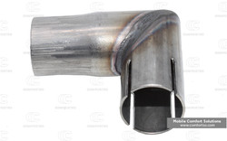 Espar Exhaust L bend / adapter 26-24mm