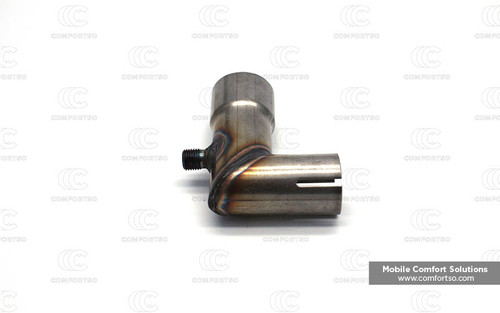 Eberspacher Espar Exhaust adapter Bend 24mm x90dg_251226894500