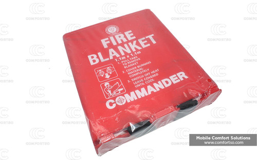 Commander Fire Blanket 1.1m x 1.1m