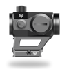 3MOA liberator red dot sight with low profile picatinny mount and 3000 hours of battery life
