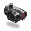 3MOA liberator red dot sight with ultra low profile picatinny mount and anti glare ruby red lens