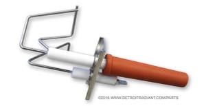 Re-Verber-Ray main burner spark electrode 3 prong