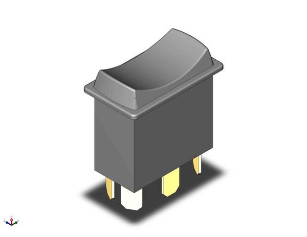 Retroaire system selector switch - heat / off / cool , units without circuit board