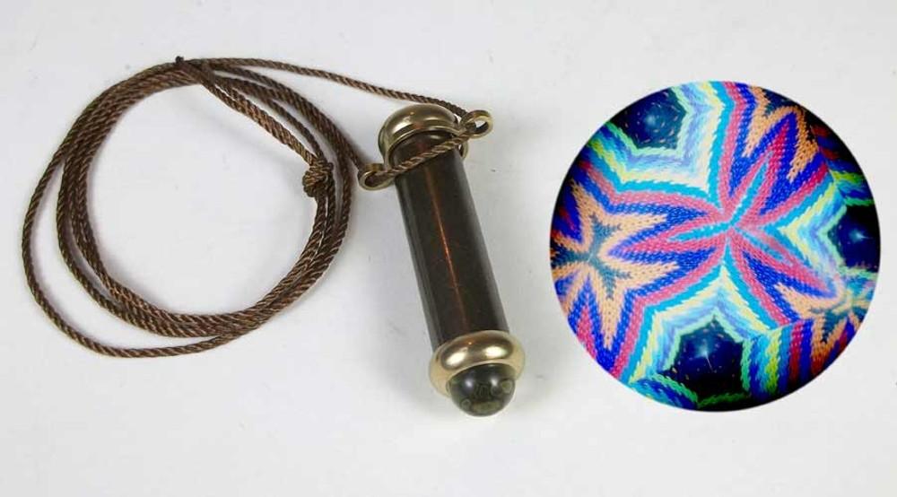 Mini Teleidoscope Necklace