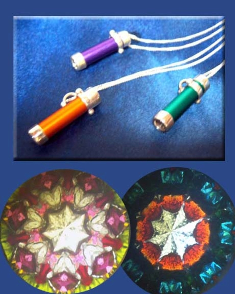 Sterling and Anodized Aluminum Necklace Scope