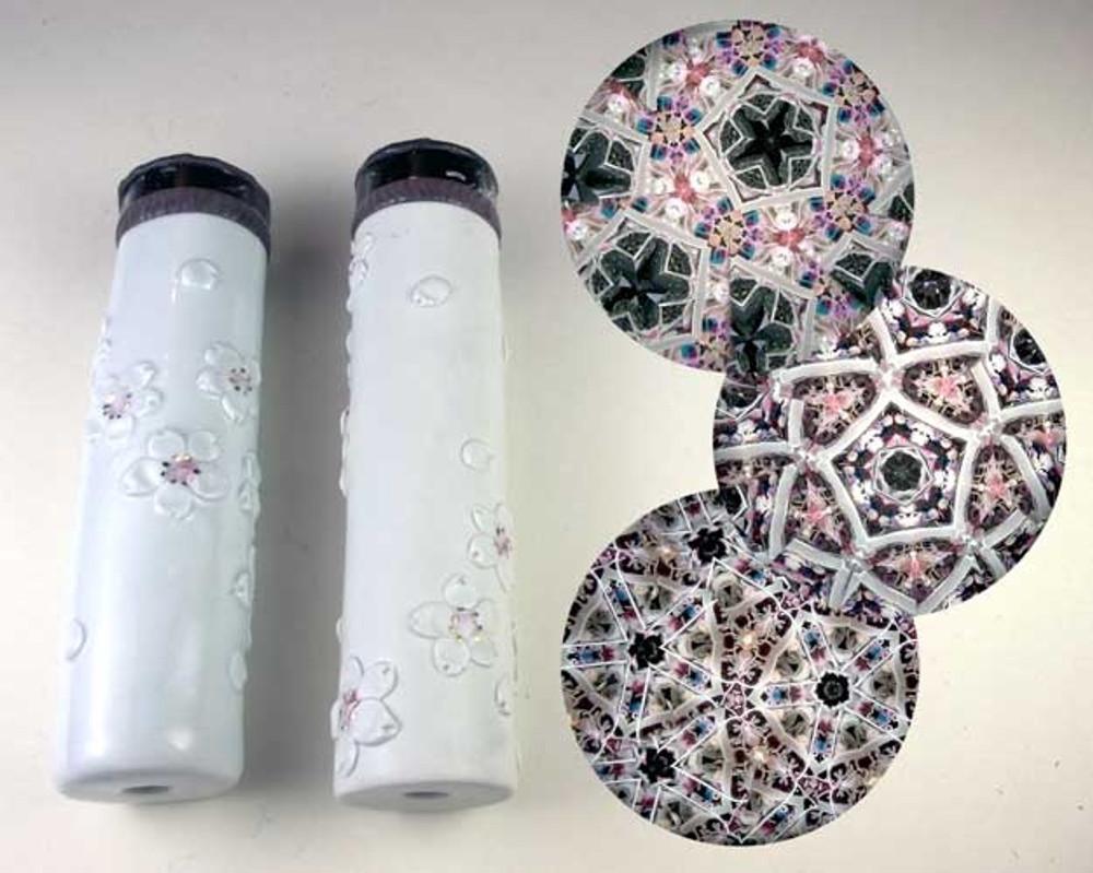 Large Ceramic Cherry Blossom Kaleidoscope