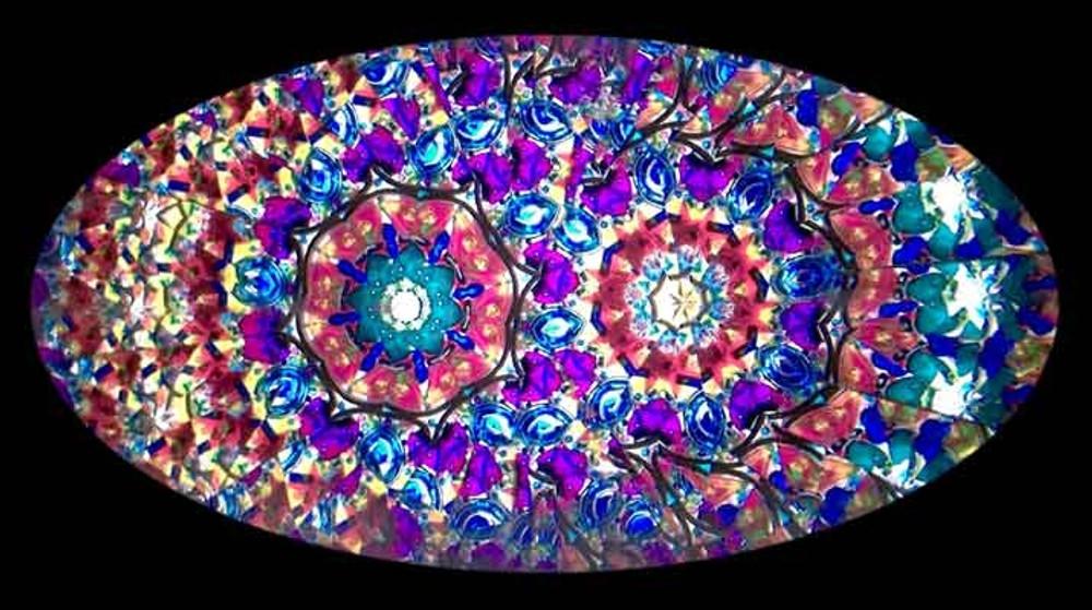 Elliptic Flower Kaleidoscope