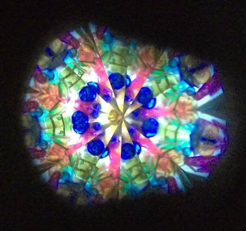 Mini Puzzle Kaleidoscope Necklace