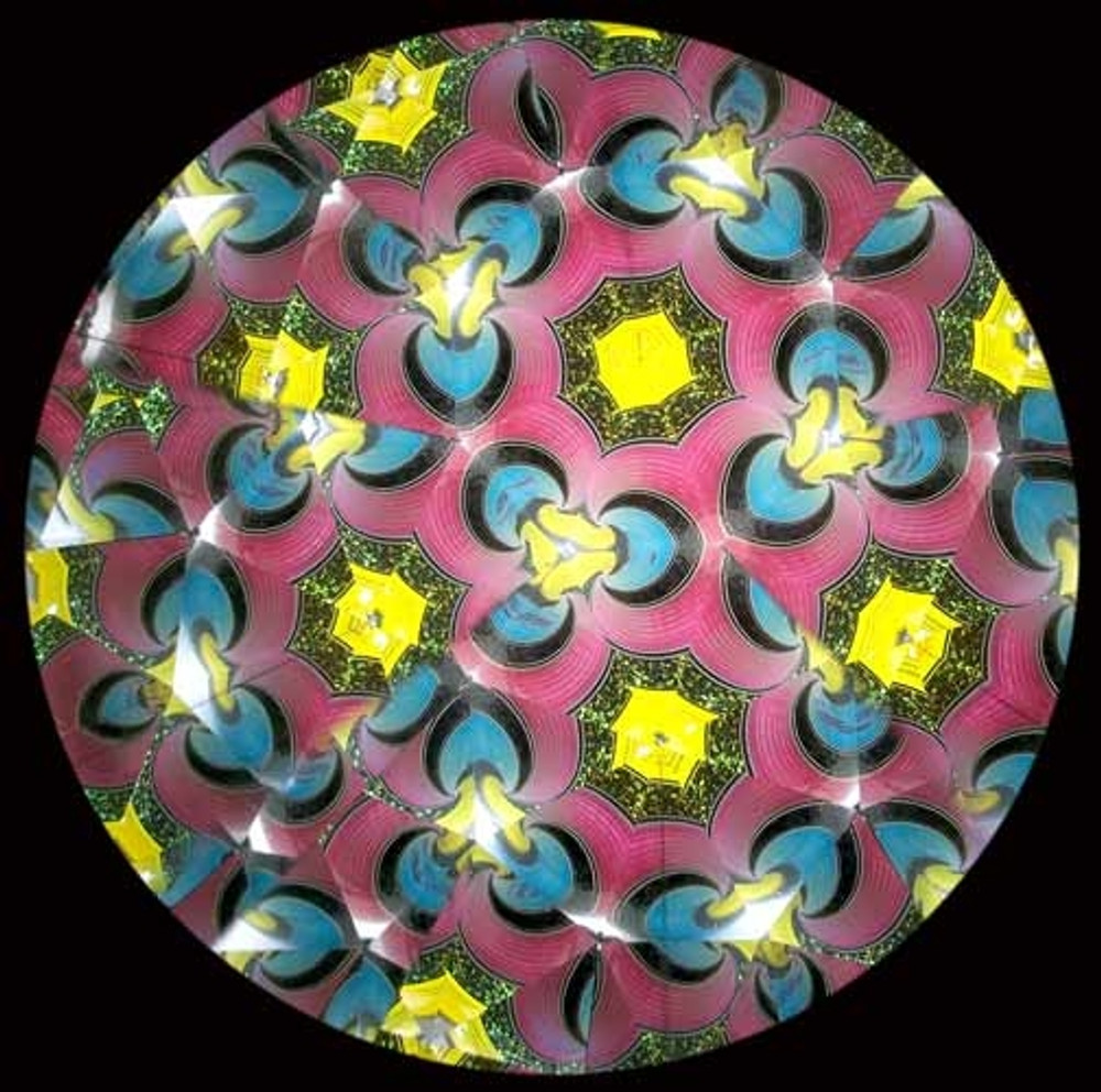 Kaleidoscope with a Hot House Marble