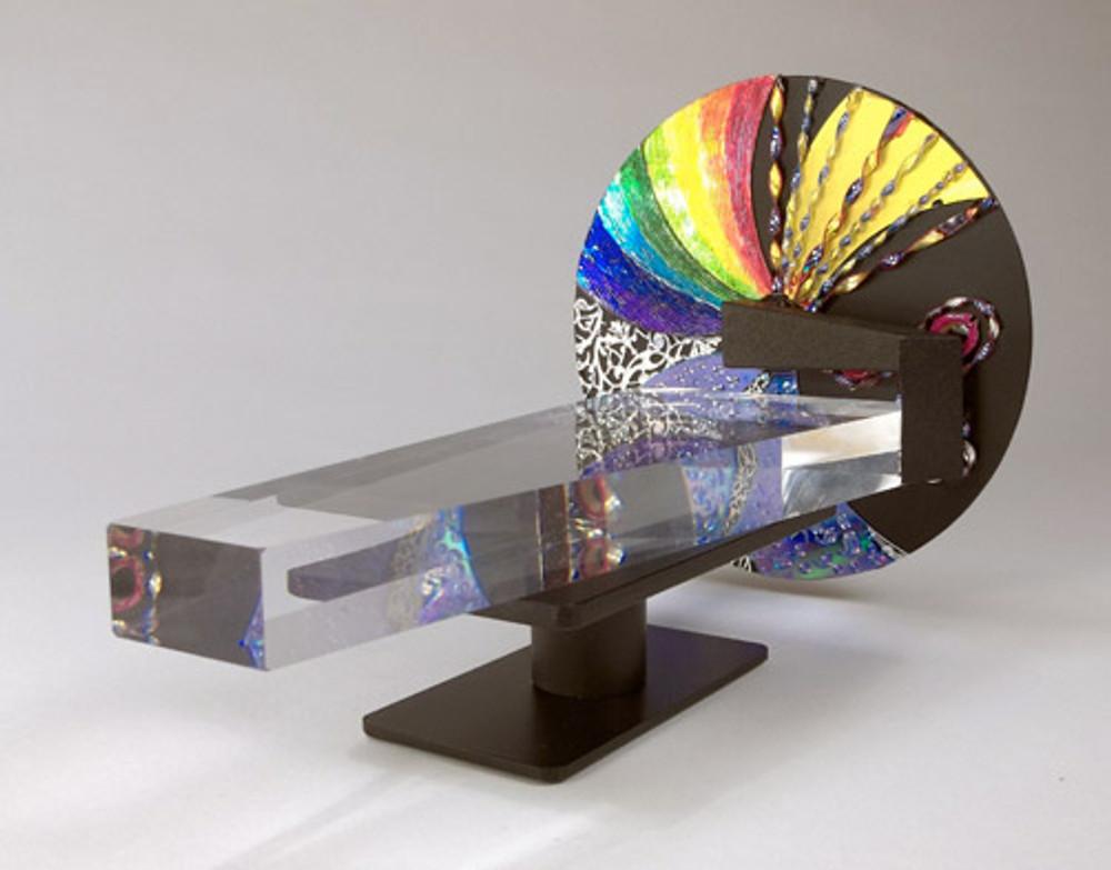 Lucite Wheel Scope