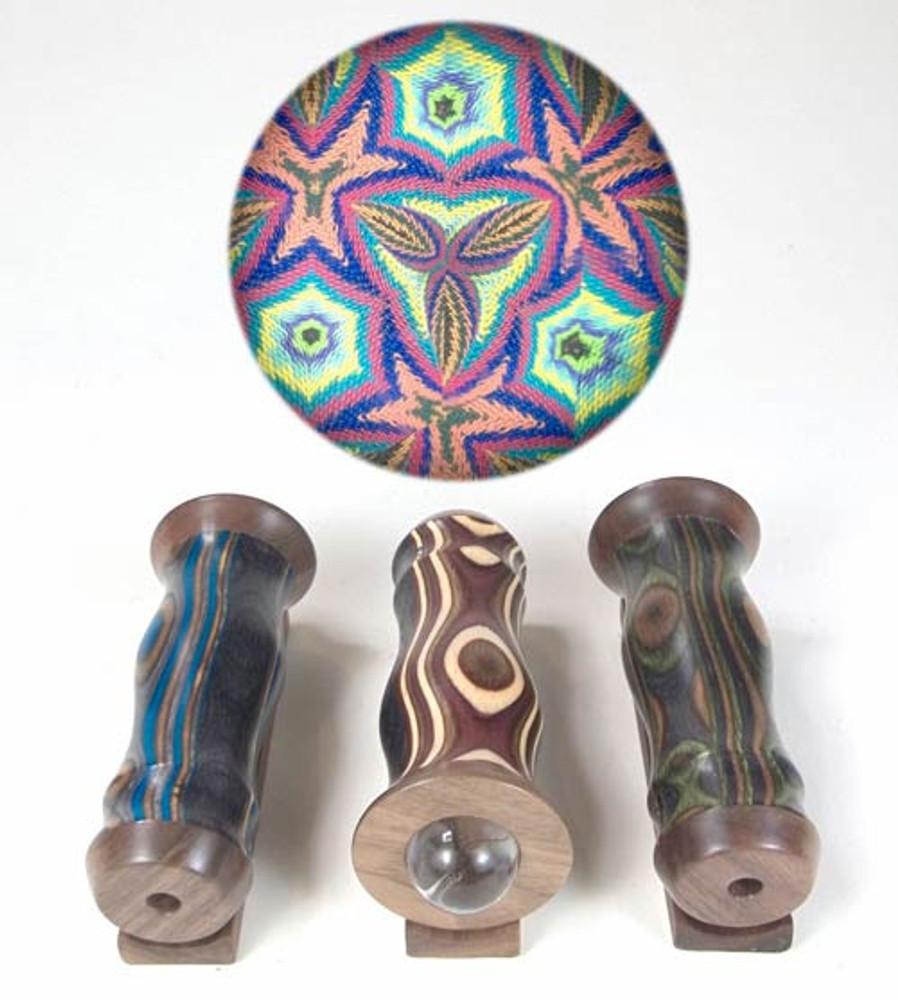 Wood Teleidoscope