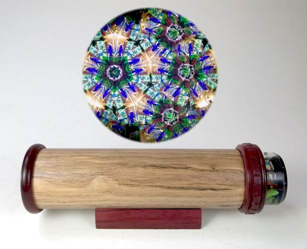 Solid Wood Handheld Kaleidoscope 1