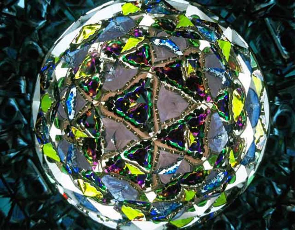 Large Citrine Parlor Kaleidoscope