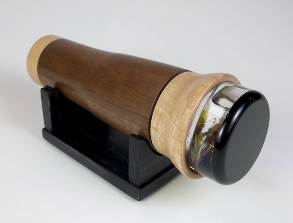 Solid Wood Kaleidoscope in Walnut