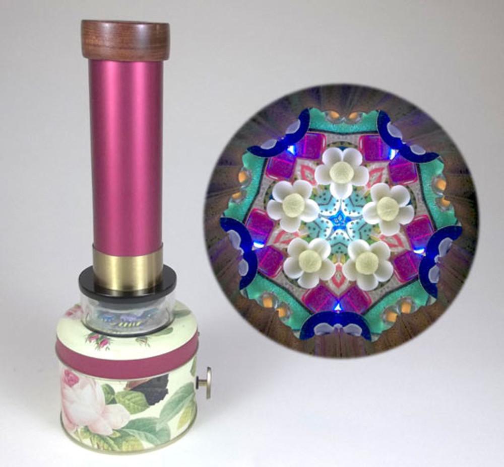 Rose Tin Musical Kaleidoscope