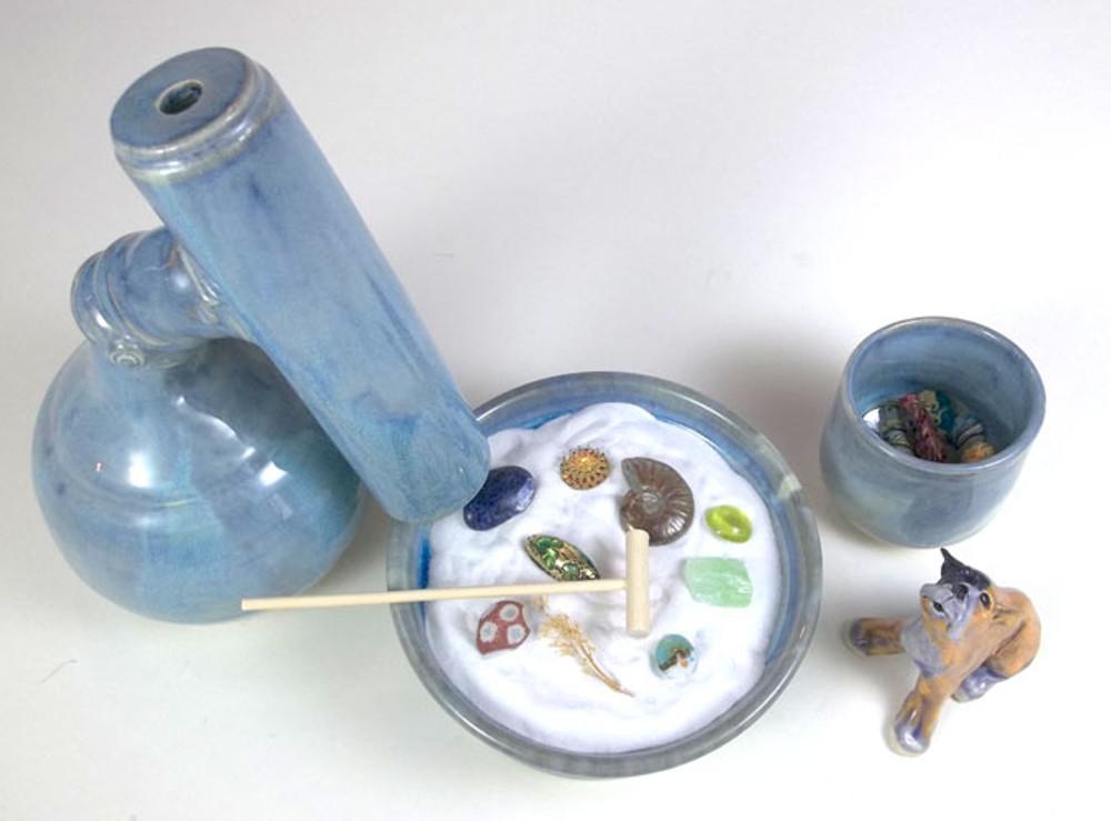 Opal Blue Zen Garden Kaleidoscope
