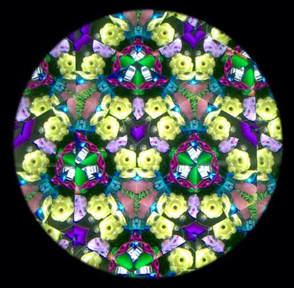 Inlaid Wooden Kaleidoscope