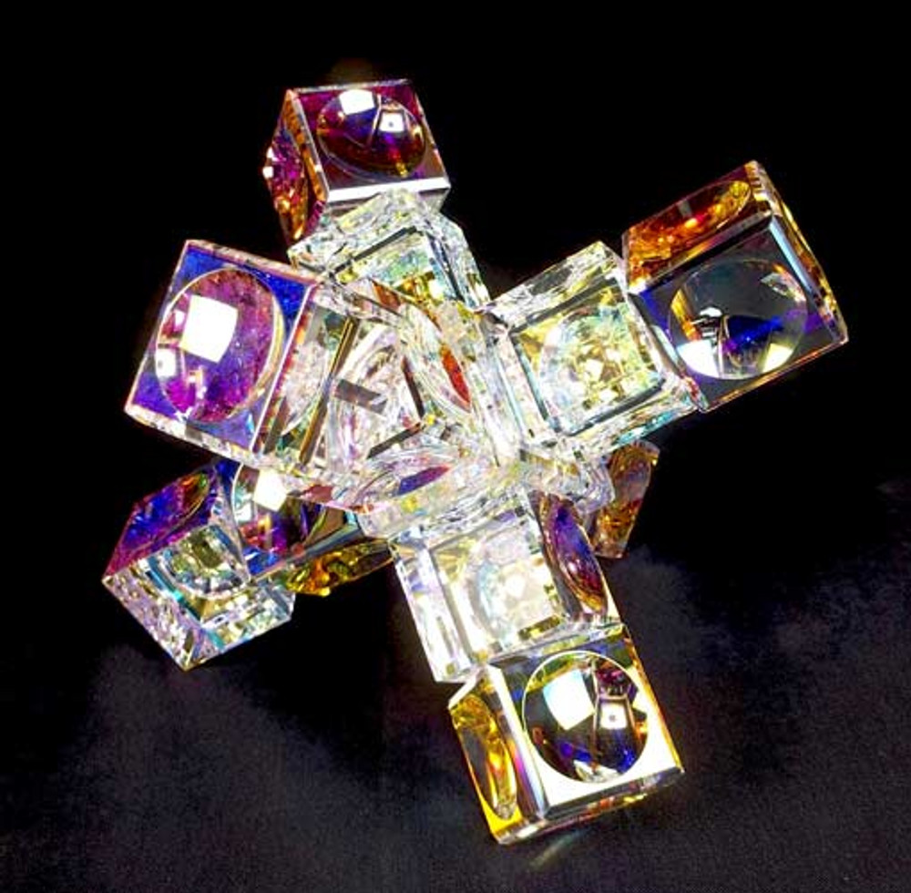 Small Crystal Cube Space Station