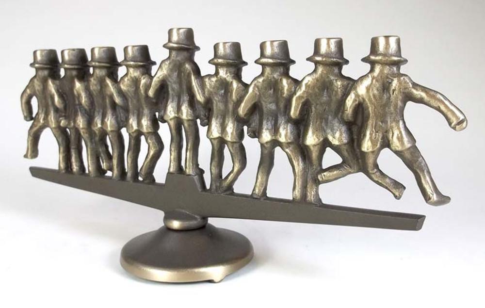Dancing Rabbis Menorah