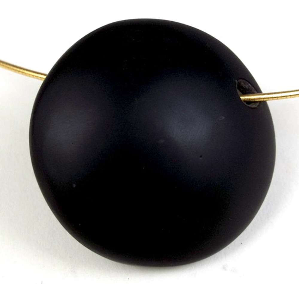 Orb Series Pendant in Black and Gold