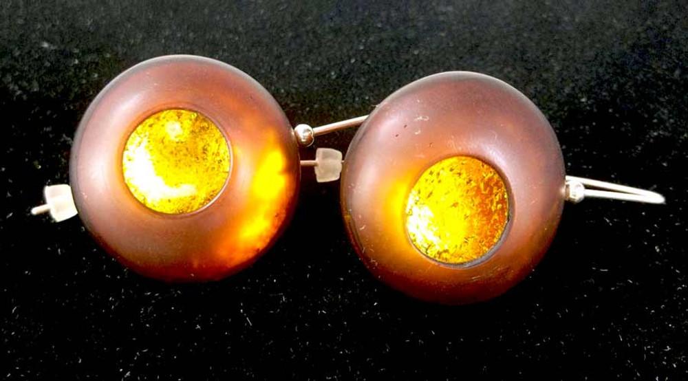 Atomic Orb Series Earrings #2