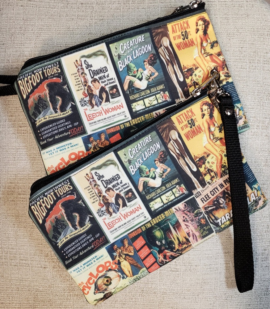Vintage B Movies - Wristlet