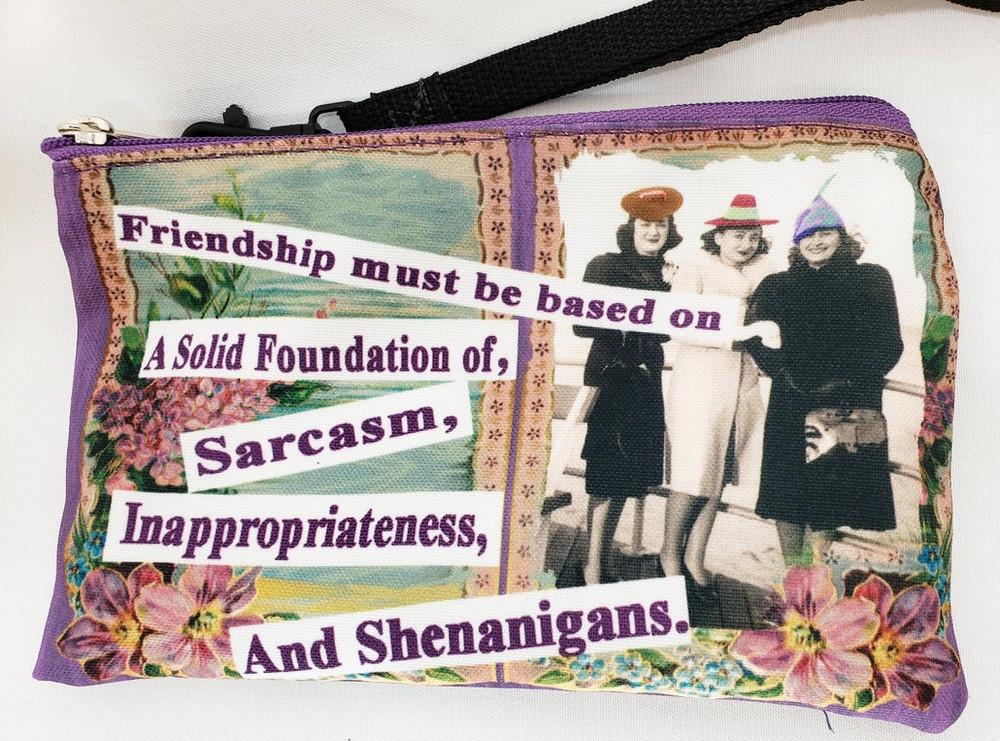 Friendship Themed - Wristlet