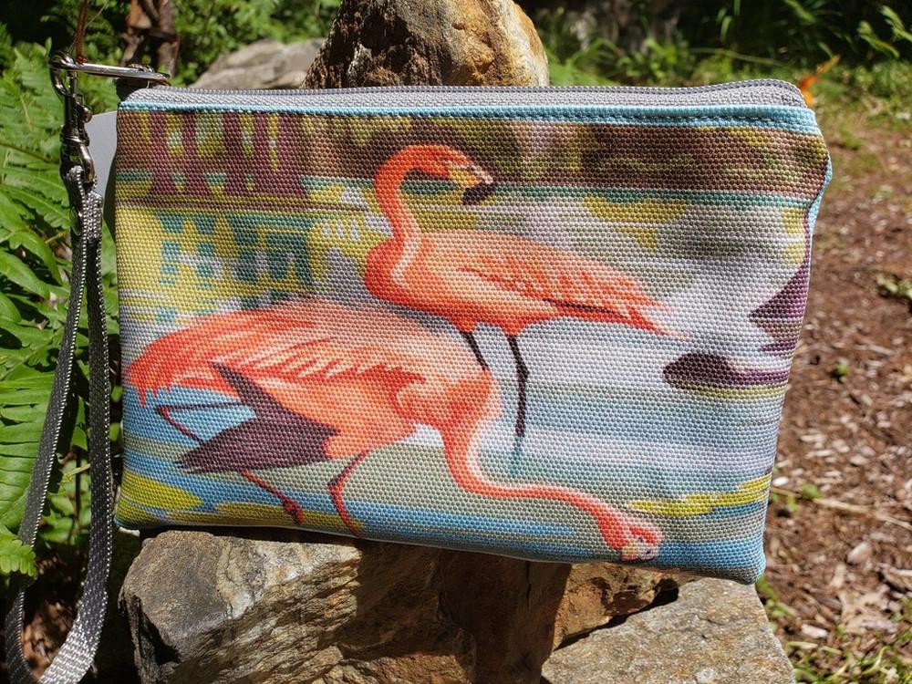Flamingo - Wristlet